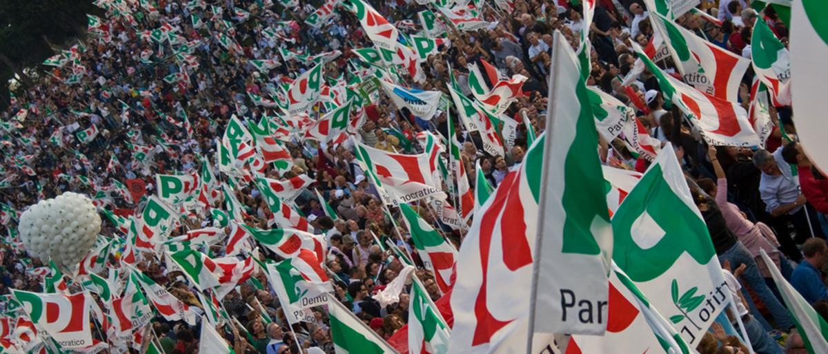 Logo bandiere PD