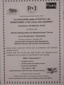 Volantino iniziativa 18 febbraio 2018